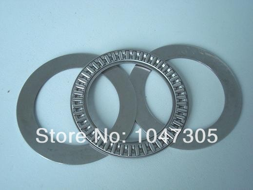 Thrust needle roller bearing  with two washers AXK160200 + 2 AS 160200 Size is 160x200x7mm 0 25mm 540 needle skin maintenance painless micro needle therapy roller black red