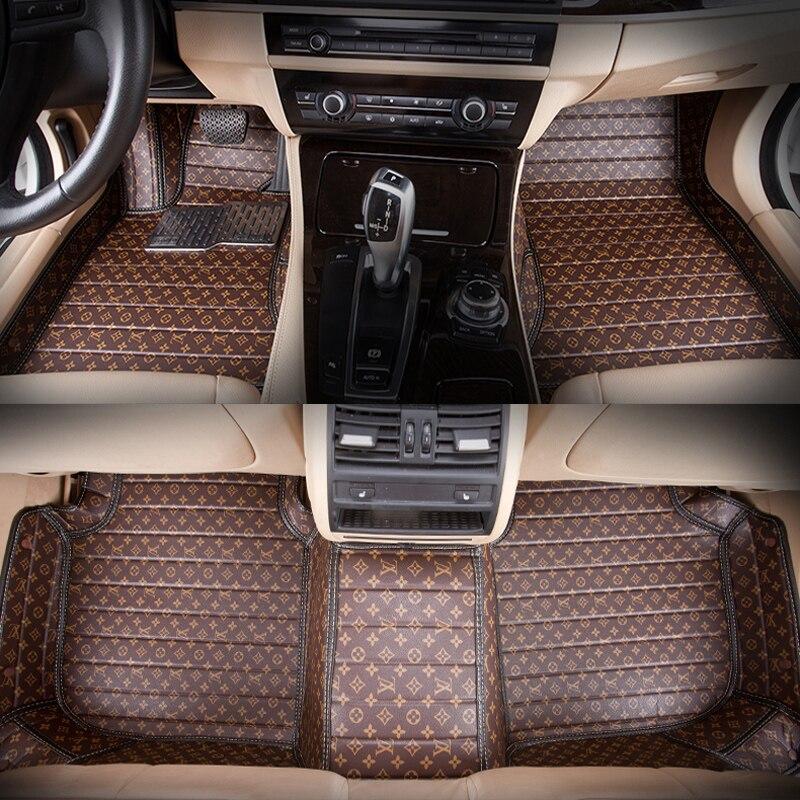 5seats RHD full surrounded waterproof non slip no odor car floor mats for Sienna Senna Hong Kong version right wheel driving