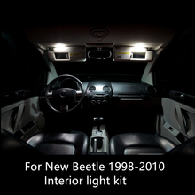 Shinman 5x Canbus Error Free Interior Led Light Package Kit For Vw New Beetle 1998