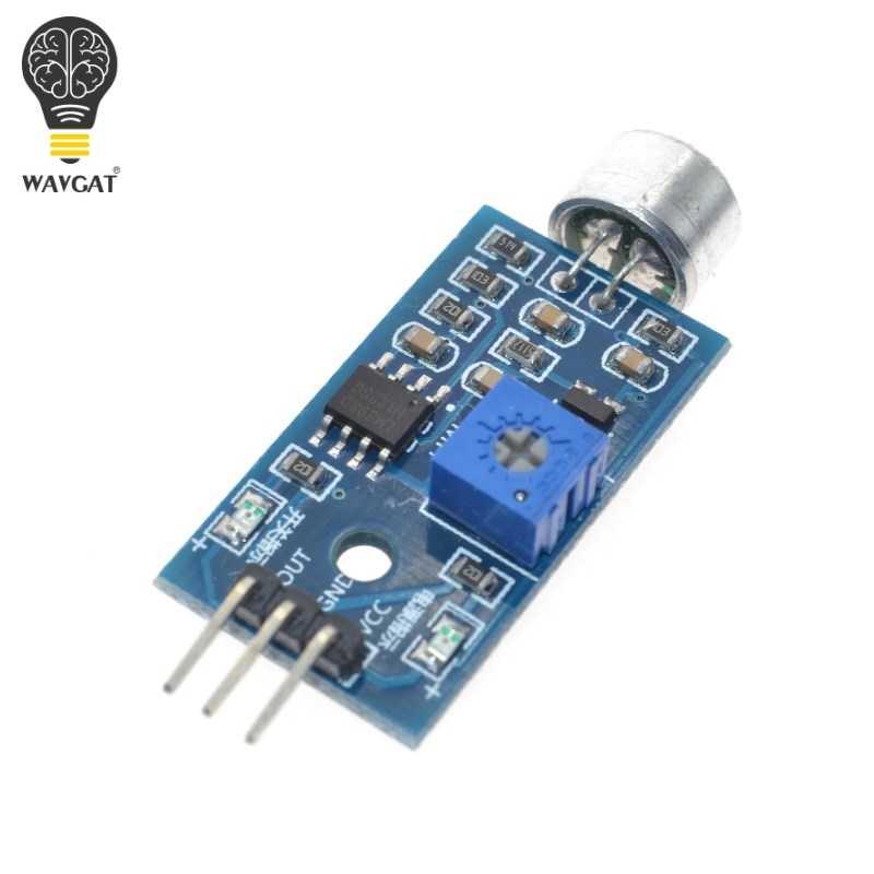 Sound Detection Sensor Module Sound Sensor Intelligent Vehicle For Arduino Drop Shipping Wholesale
