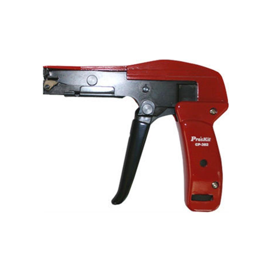 Livraison gratuite ProsKit CP-382 attache de câble pistolet pince de coupe et de serrage (160mm)