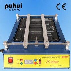 220 V o 110 V Puhui T8280 PCB Preriscaldamento Piastra di Preriscaldamento IR T-8280 IR-Preriscaldamento del Forno 0-450degree Celsius Saldatura di riparazione