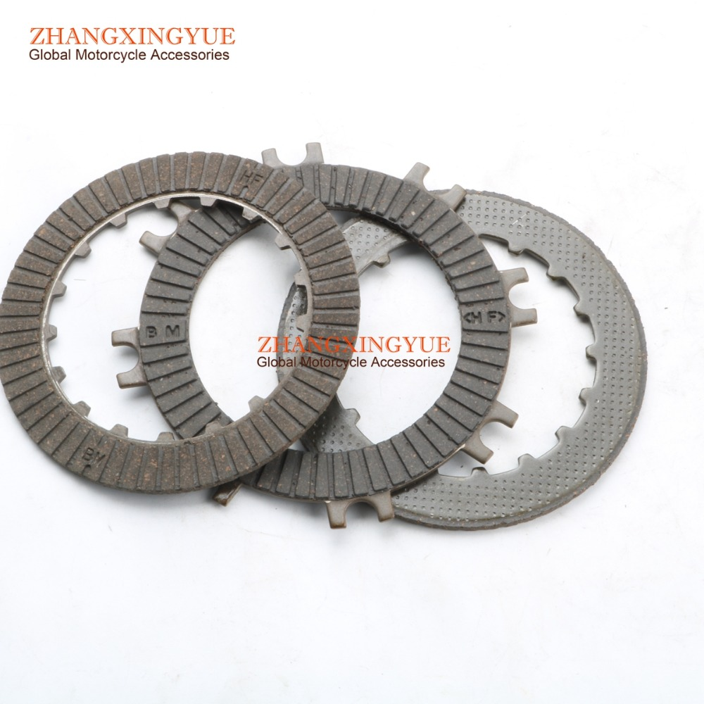 Motorcycle & ATV Motorcycle & ATV Clutch Friction Plate Set For Honda CRF50 CRF70 C70 CT70 TRX70 XR50 XR70