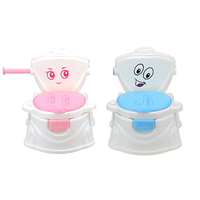 New Baby Potty Portable Cute Cartoon Musical Kids Toilet Cars Children S Pot WC Child Potty