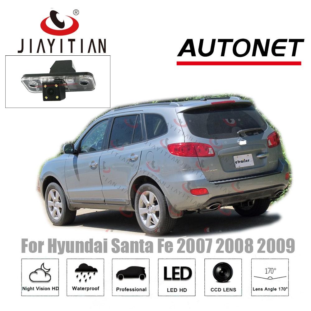 Камера заднего вида JIAYTIAN, парковочная камера для Hyundai Santa Fe 2 FL 2006 2007 2008 2009 2010 2011 2012 ccd HD Камера для авто      АлиЭкспресс