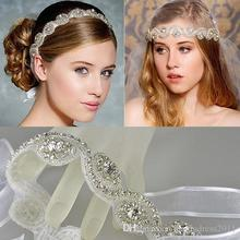 2016 fashion crystal rhinestone bridal wedding jewelry headpiece crown girl  hair accessories hairband heand band decoration 72aa904463ef