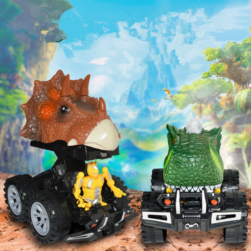Mini Dinosaur Kids Toys Car Back Of The Car Gift Children/'s Day Gift Plaything