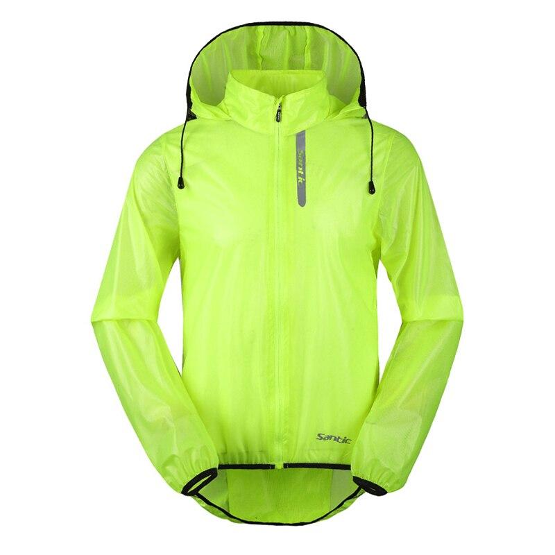 Цена за Santic мужская велосипед легкий ветер пальто велосипедов зеленый велоспорт куртка clothing водонепроницаемый велосипед джерси с длинным рукавом s 3xl 2 цветов