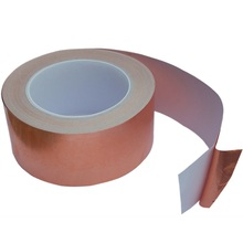 10MM X 30M Adhesive Single Face Electric Conduction Copper Foil Tape EMI Shielding and Snail Barrier