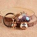 3d cute mushroom Luxury Keychain Key Chain & Key Ring Holder Keyring Porte clef Gift Men Women Souvenirs Bag Pendant Car