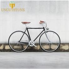 700C  vintage Fixie bike Retro Steel frame sliver Single speed Bike 52cm fixie bicycle Track