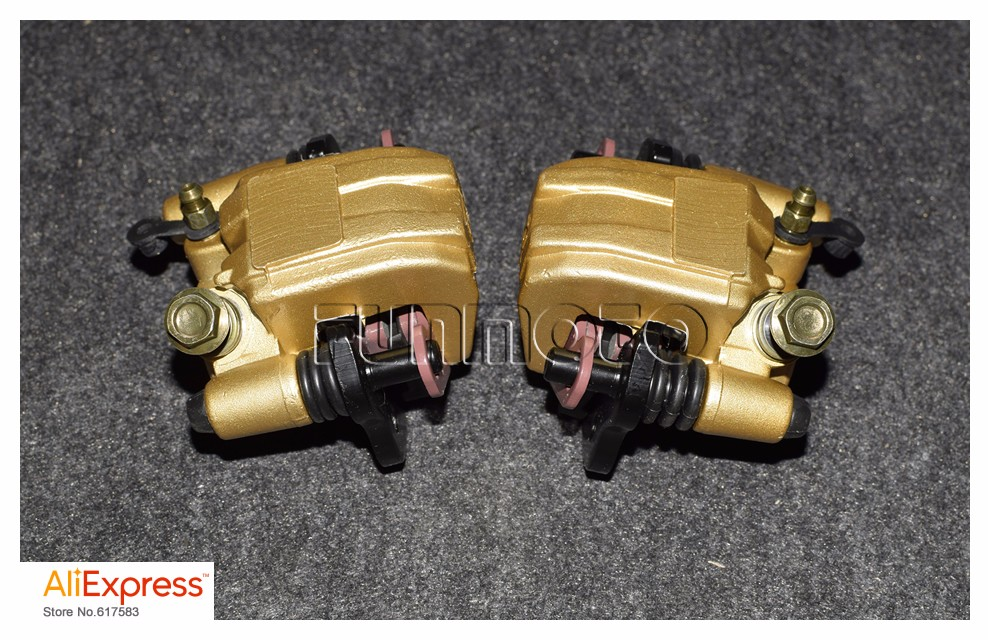 front left and right Brake caliper brake shoe of LONCIN150CC ATV /BASHAN 150ATV AND 250CC BUGGY GOKART BRAKE PARTS brake shoe