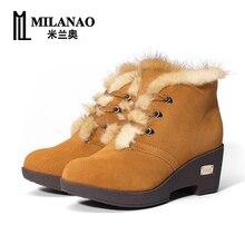 Зима новый проповеди сапоги женские модные сапоги женские чистый цвет плюс бархат Теплой обуви
