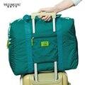 Wiliamganu 2016 nueva moda bolsa de viaje impermeable unisex viajan mujeres de los bolsos del viaje del equipaje bolsas plegables 4 colores envío gratis