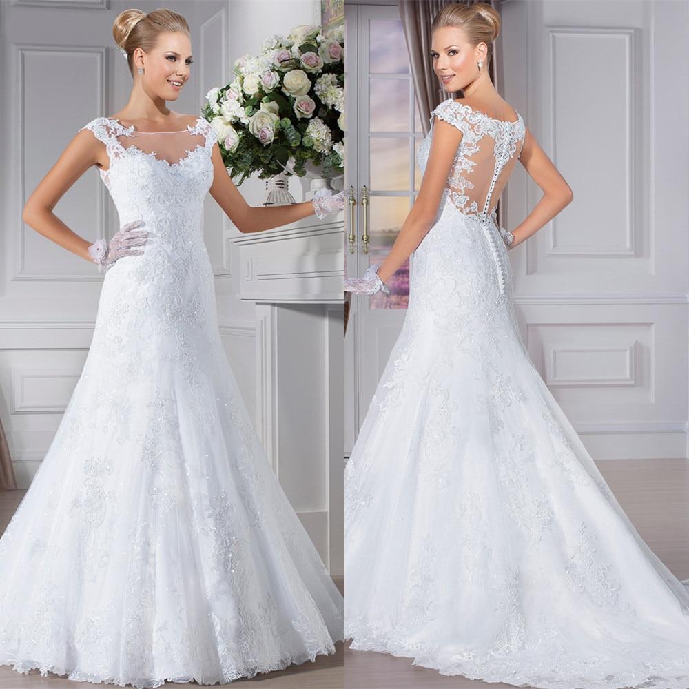 Free Shipping Robe De Mariee Romantic Shoulders Lace Appliques Bridal Gown Vestido De Noiva 2018 Mother Of The Bride Dresses
