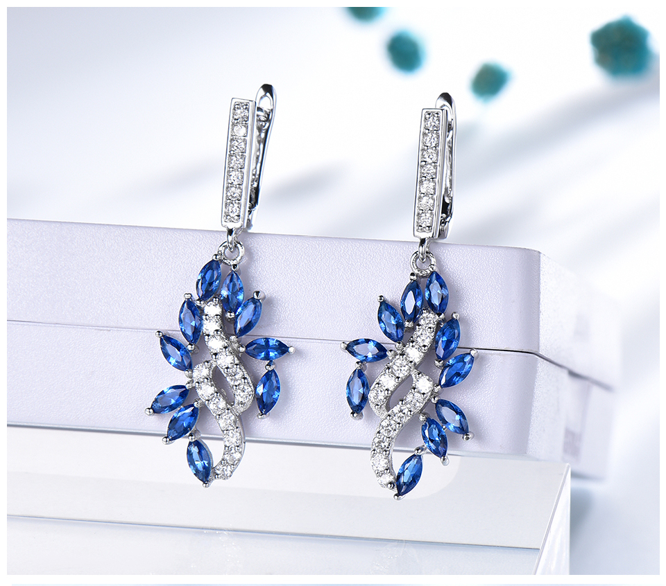 UMCHO-Sapphire--925-sterling-silver-earrings-for-women-EUJ088S-1pc (4)