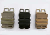 Airsoft Fast Mag Pouch Molle SAND Army Green Black 5 56 M4 Magazine Pouch Double Mag