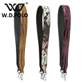 W.D.POLO Strapper you bag strap handbag belts stud gift bag accessory bag parts genuine leather Fashion icon crocodile style2295