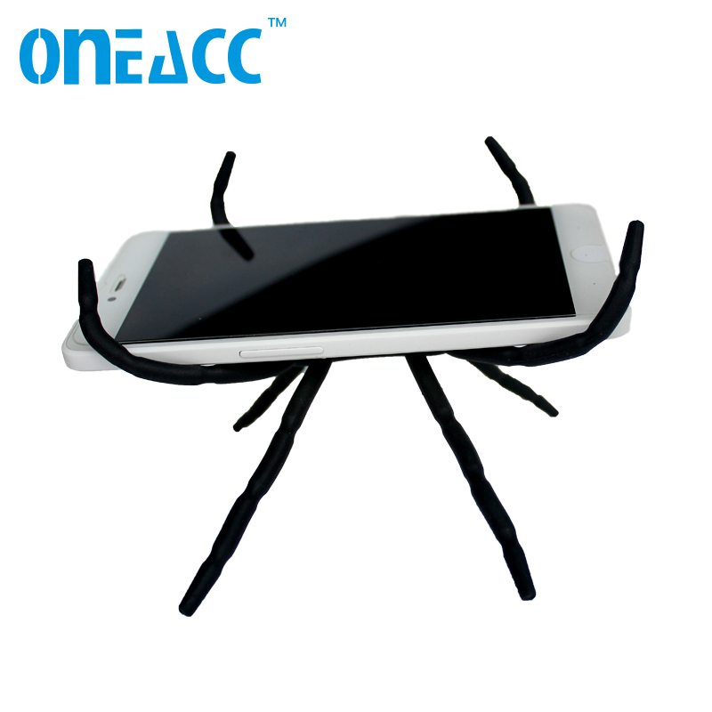 ONEACC Universal Spider Mobile Phone Holder For Iphone 6 Plus Stent For Samsung S6 Edge S5 Car Holder Stand Support Phone Holder