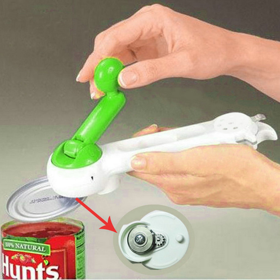 New Essential New Multi Function Bottle Can Jar Opener 7 in 1 Kitchen Tool cooking tools