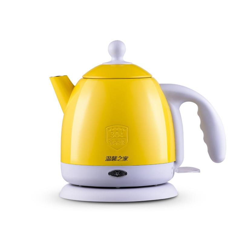 Apprehensive Thermal Insulation Electric Kettle Hot Water Heating Boiler Pot Stainless Steel 1l Mini Travel Teapot Milk Heater Warmer Eu Us