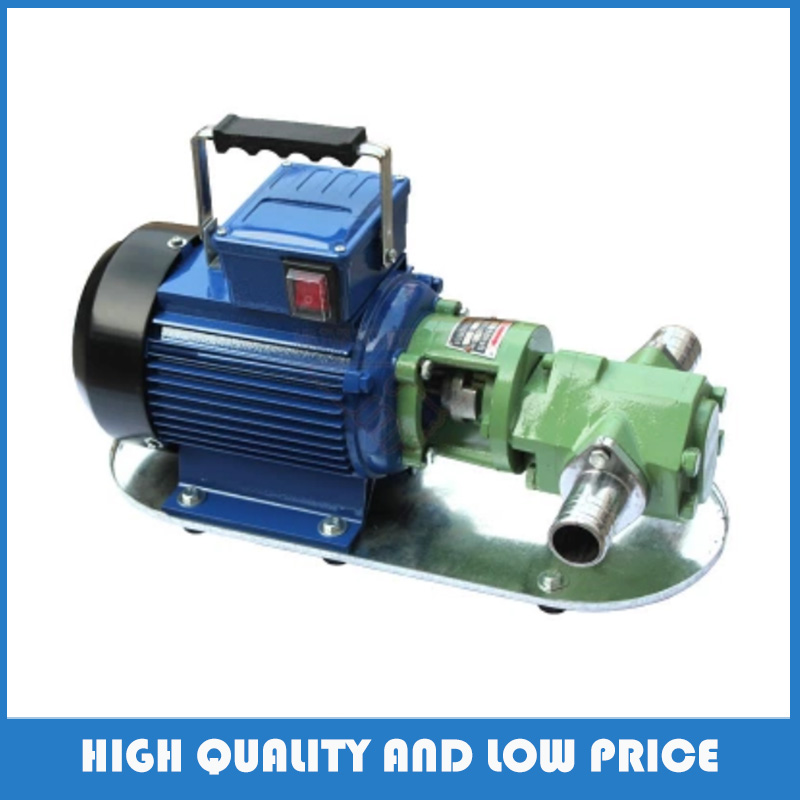 Pompe à essence antidéflagrante électrique de la pompe 550 W de transfert d'huile d'auto-aspiration de WCB-50