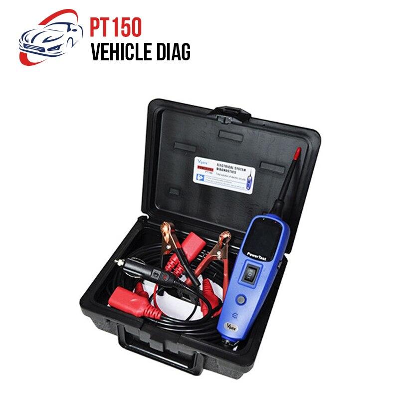 Dernière sonde testeur de Circuit électrique outils automobiles tension automatique Vgate Pt150 testeur de système électrique identique à Autek YD208