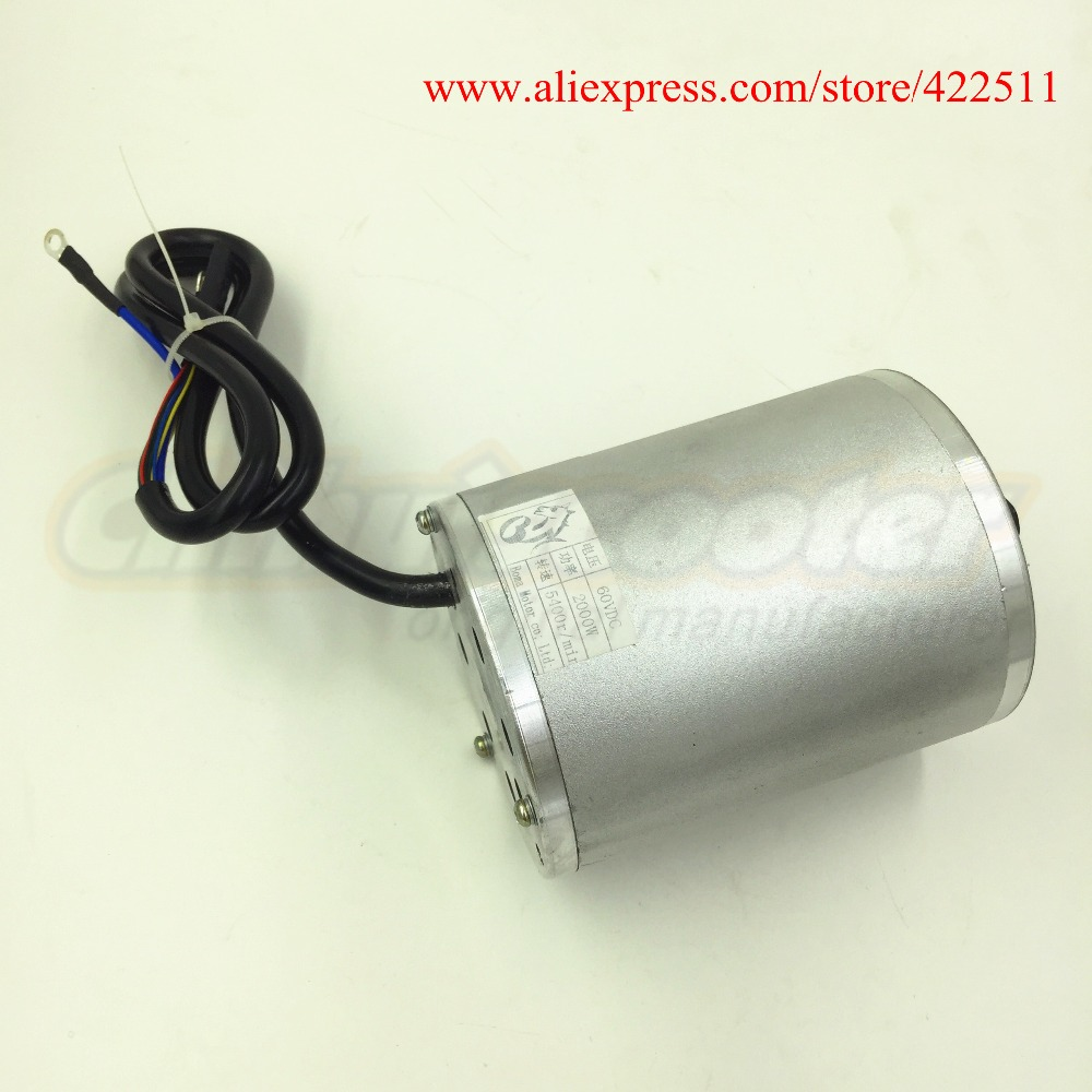 Image 5 - New 2000W 60V Brushless DC Motor Electric Scooter BLDC Motor 2000W 60V Electric Motor ( Electric Scooter Spare Parts)-in Scooter Parts & Accessories from Sports & Entertainment