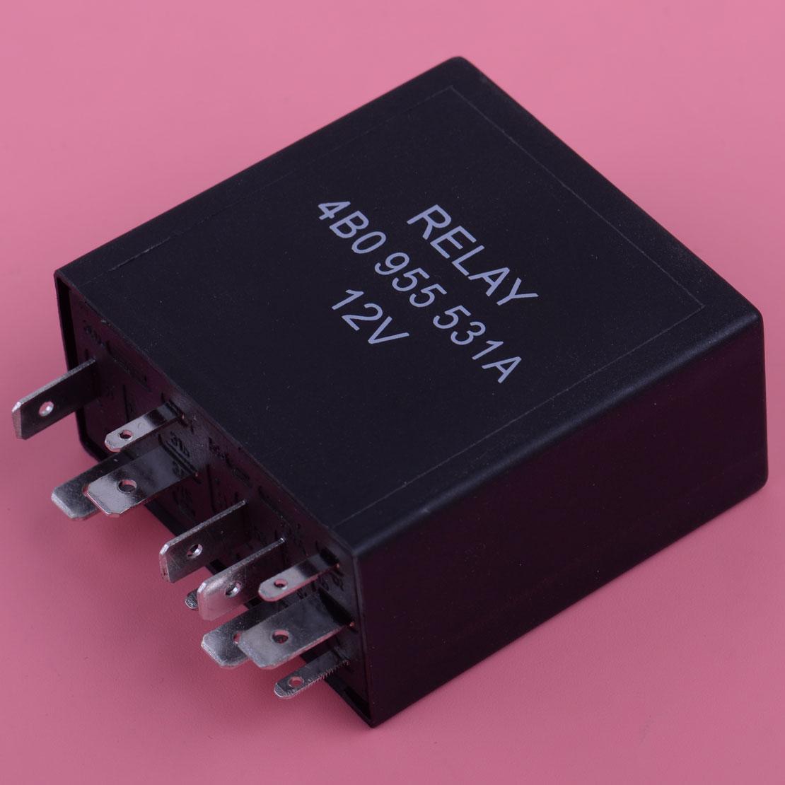 цены на CITALL 11 Pin 377 Intermittent Delay Wiper Motor Control Relay 4B0955531A For VW Golf GTI Passat Jetta Audi A4 A6 A8 4B0955 531A  в интернет-магазинах