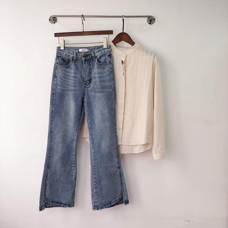 2019 Fino Punto Pantalones Y Generoso De Pierna Elegante Mujer Primavera Micro Mejor Explosiones Venta Slim Nueve la 8B7w8r