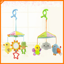 Baby Toy Cotton Stroller Hanging Crib Toys Newborn Soft Rattles For Educational Mobile Plush For Infant fisher price baby toys for baby rattles ball with sounds soft plush mobile toys baby speelgoed juguetes para los ninos