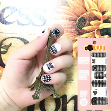 Black & White Cute Mouse child Nail Arts Nail Sticker Waterproof Nail Decal Sticker Gel Polish French Manicure Patch Full Tape