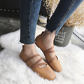 2017 fashion shoes women's Shoes Woman Ballet Flats Cross-tied sexy Shoes loafers Ladies Shoes ballerina flats