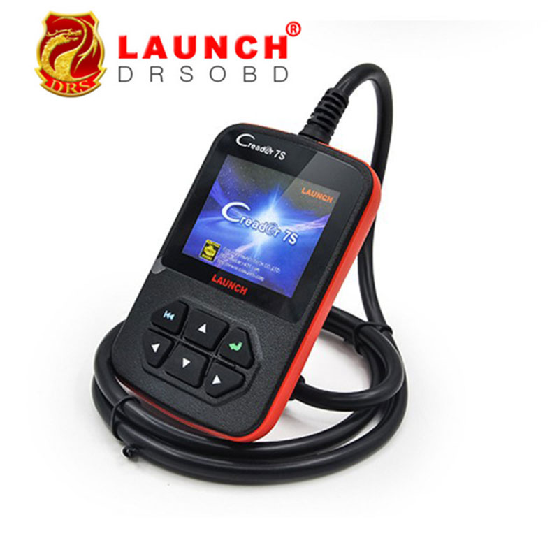 2016 100% Original Launch X431 Creader 7S Code Reader VII Plus +Oil Reset Function Creader 7 Plus Update Via Official Website