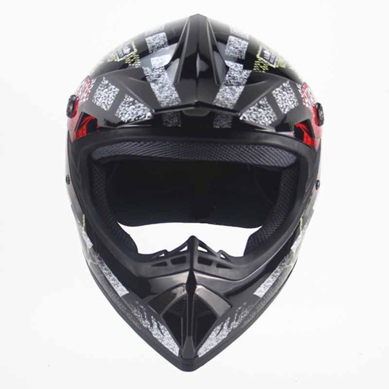 Haute qualité Motocross casque saleté vélo vtt BMX Moto Moto Moto casques Moto lunettes cadeaux