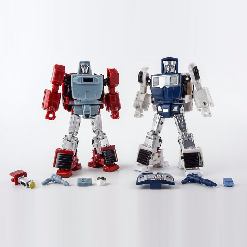 (In STOCK) Toy X-Transboots - MM-VI Boost (Toy Color) MM-VII - Hatch (Toy Color)