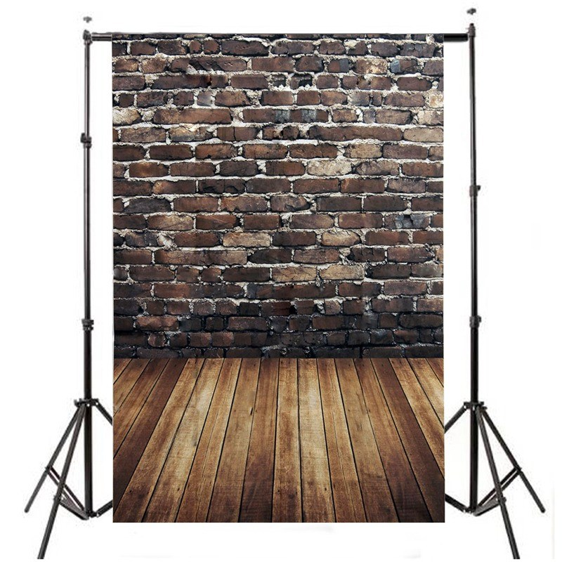 Vinyl Photography Background For Studio Photo Props Brick Wooden Wall Photographic Backdrops cloth 210cm x 150cm 5x7f wedding party outdoor photography backdrops photo studio props villa vinyl photography background cloth 210cm x 150cm