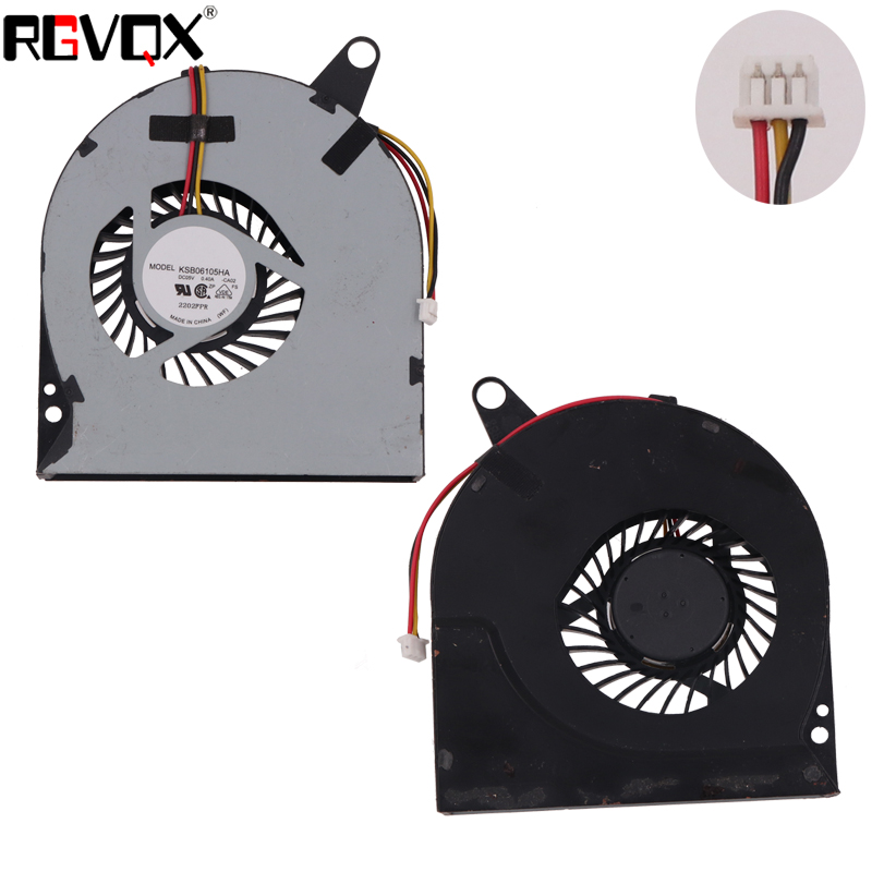 Купить с кэшбэком New Laptop Cooling Fan For Acer aspire V3 V3-771 V3-771G Original PN: DFS551205ML0T CPU Cooler Radiator