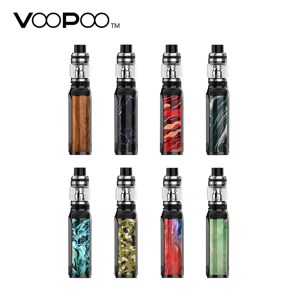 New Original 200W VOOPOO Vmate TC Kit with 8ml/1.8ml UFORCE T1 Tank No 18650 Battery Box Mod Vape Kit Huge Power VS VOOPOO Drag 100% original voopoo uforce t1 subohm tank 3 5ml 8ml with all new n1 0 13ohm mesh coil
