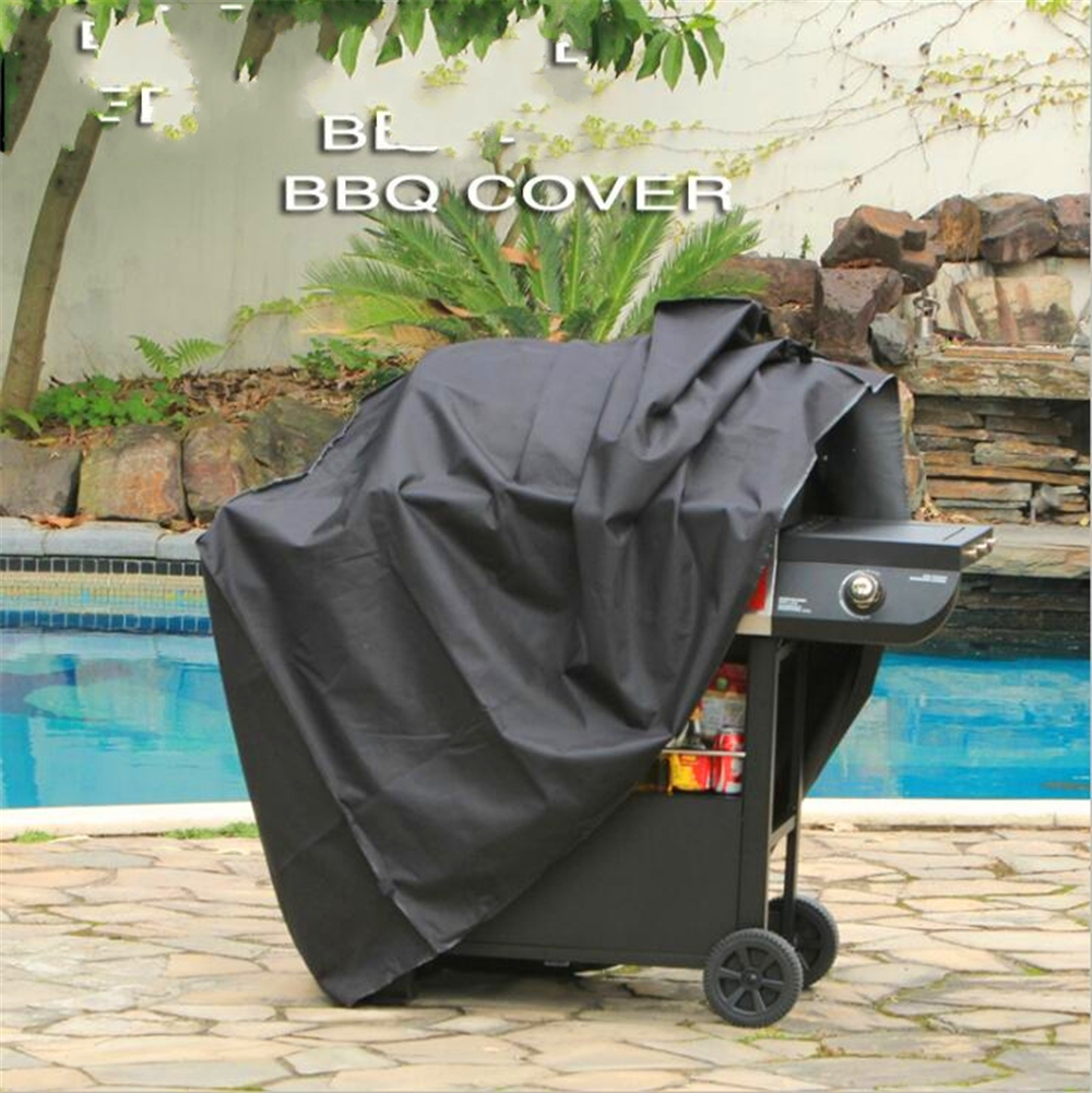 Waterproof BBQ Grill Barbeque Cover Weber Outdoor Rain Grill Barbacoa Anti Dust Protector Gas Charcoal Electric Barbe Bag in Covers from Home Garden