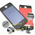 100% probó bueno lcd pantalla para iphone 4 4s 5g 5c 5s 6g blanco/negro Completo LCD con Pantalla Táctil Digitalizador Asamblea Envío gratis