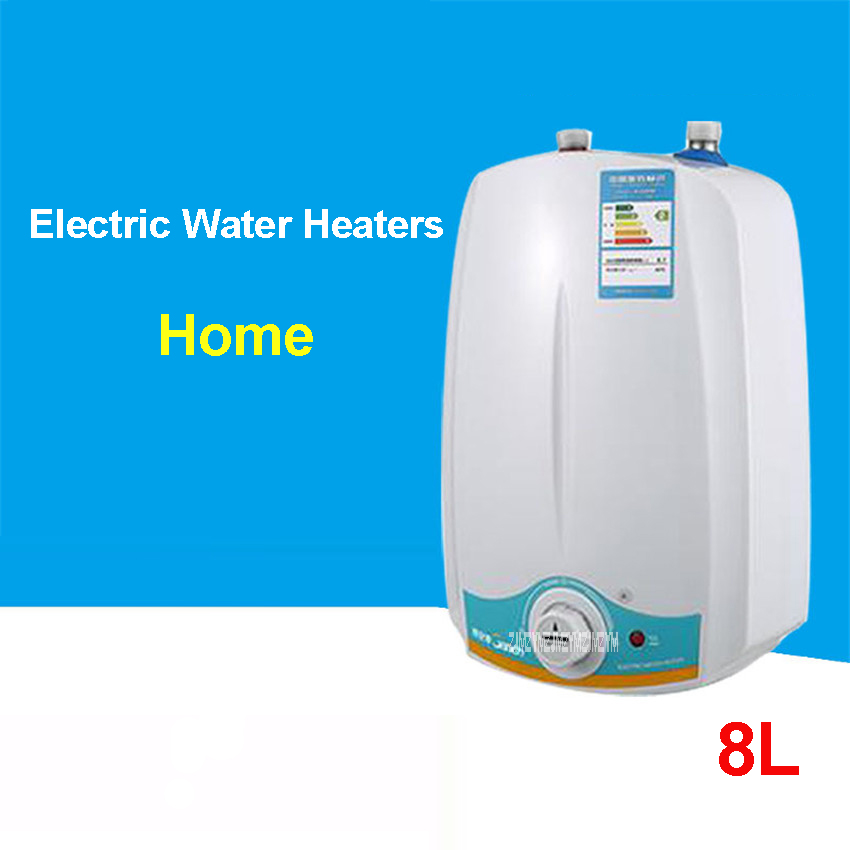 New 8L  220 V /50 Hz Immediate Electric Shower Speed Hot Shower Bath Induction Heater Electric Heater Water Heater Warm Water|electric shower|water heater|electric heater water - title=