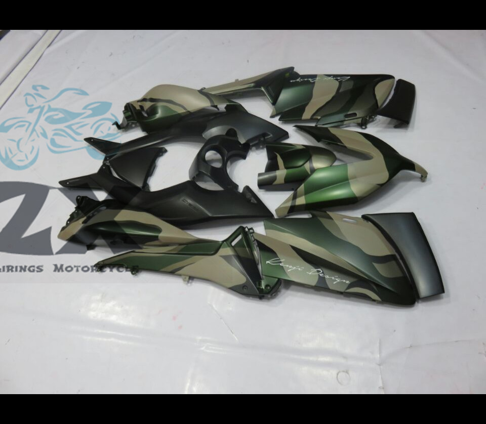 Complete Fairings For Yamaha TMAX 530 15 16 T-Max ABS Plastic Kit Injection Motorcycle Fairing Flat Black Kit colour UV TMAX530
