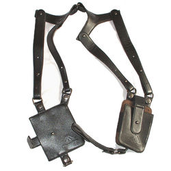 Leder Anti-Theft Versteckte Unterarm Holster Stil Schulter Brieftasche Handytasche-US088