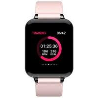 Mulher relógio inteligente tela colorida ip68 à prova dip68 água esportes para telefones android smartwatch freqüência cardíaca pressão arterial rastreador de fitness|Relógios femininos| |  -