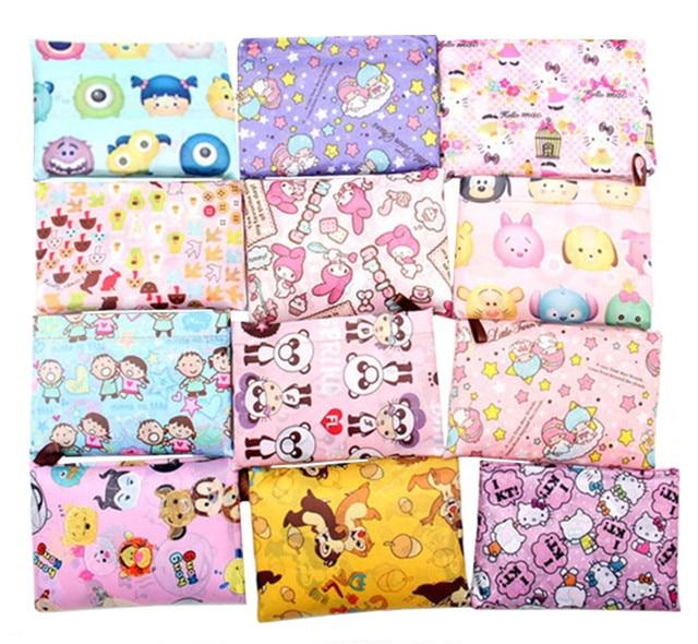Hello Kitty My Melody Little Twin Star Tsum Tsum Large Nylon Folding  Reusable Shopping Bag Foldable Grocery Bag Eco Tote Handbag 4b9d2a3e57