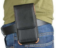 Vertical Belt Clip Leather Mobile Phone Case Pouch For Sony Xperia L2 For Nokia 6 2018