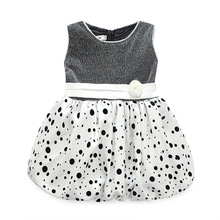 Baby Girls Casual Ball Gown Dress Dot Clothes Princess Childrens