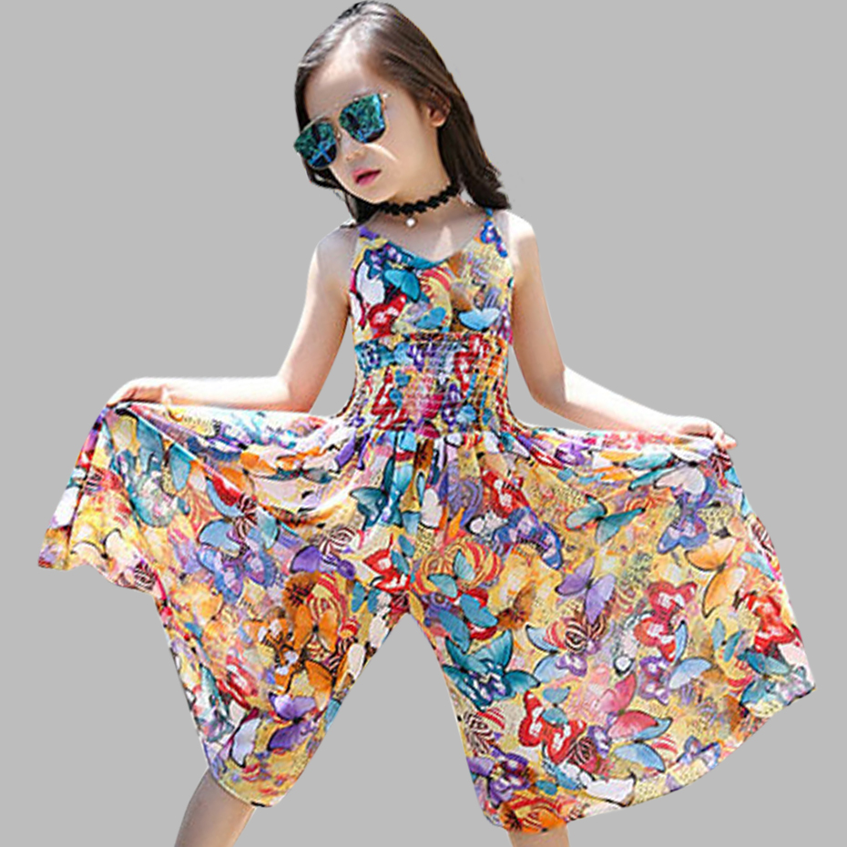 2018 Model New Women Clothes Bohemia Youngsters Clothes Women Summer season Floral Celebration Clothes Teenage Women Clothes For six 8 12 Years ladies gown, clothes for ladies, floral gown...