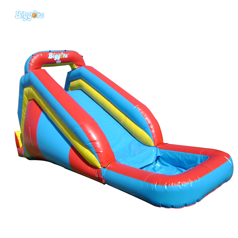 Inflatable Biggors Water Sports Games Inflatable Pool Slide Inflatable Toys For Pools popular best quality large inflatable water slide with pool for kids